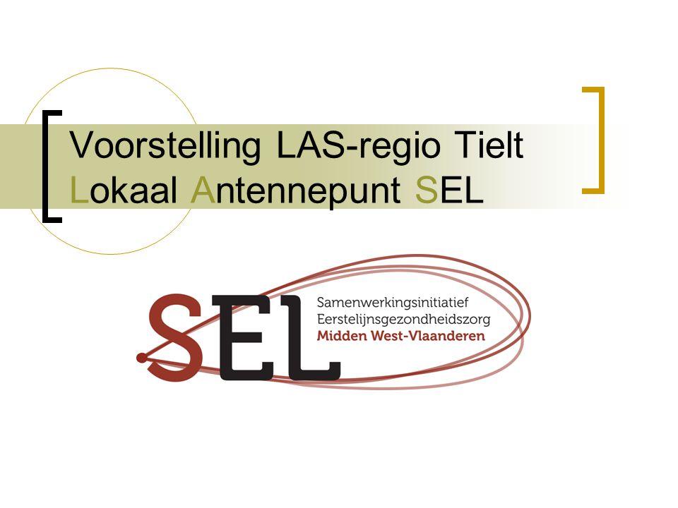 Voorstelling LAS-regio Tielt Lokaal Antennepunt SEL