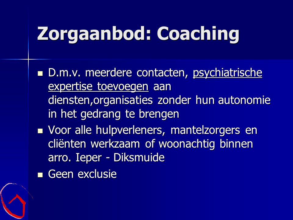 Zorgaanbod: Coaching