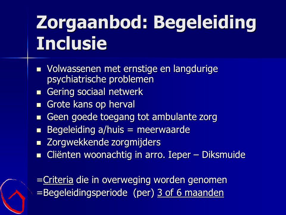 Zorgaanbod: Begeleiding Inclusie