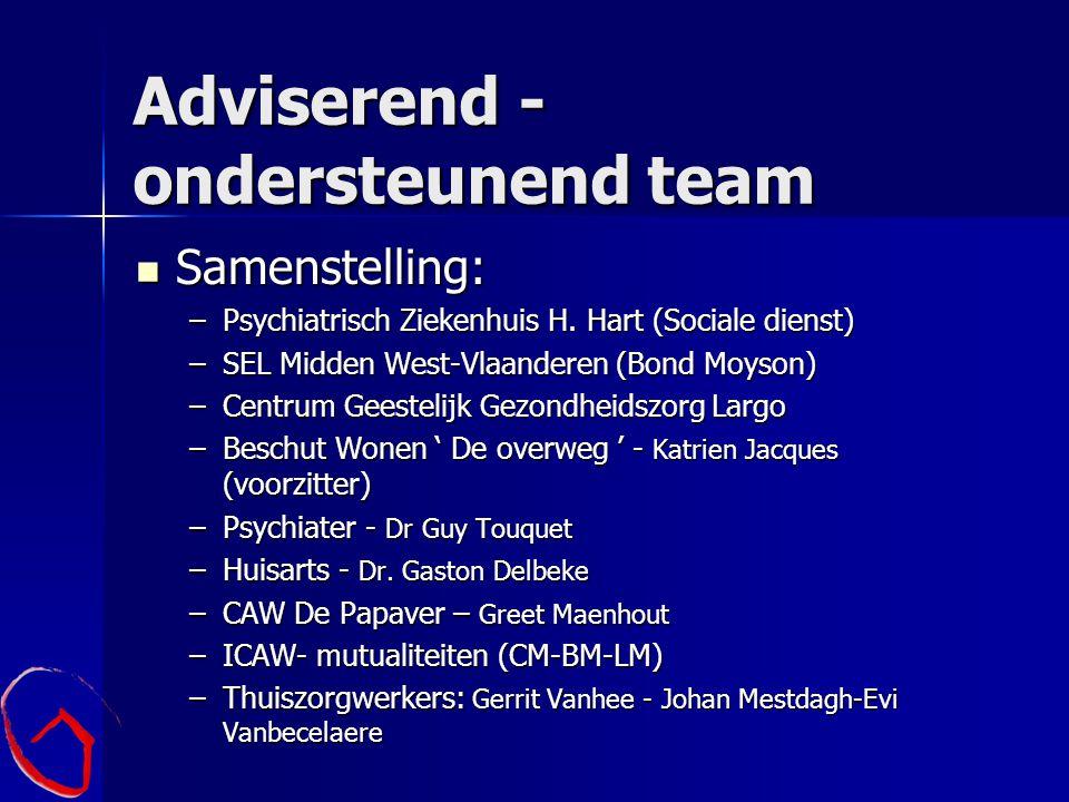 Adviserend - ondersteunend team