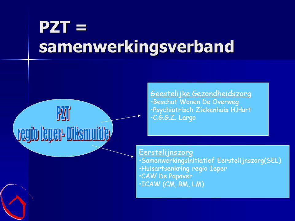 PZT = samenwerkingsverband
