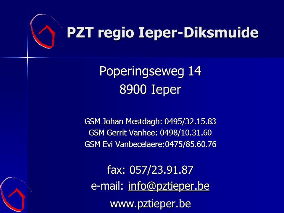 PZT regio Ieper-Diksmuide