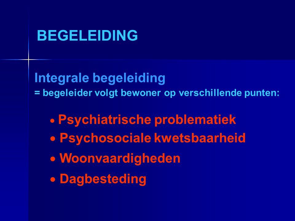 BEGELEIDING Integrale begeleiding Psychosociale kwetsbaarheid