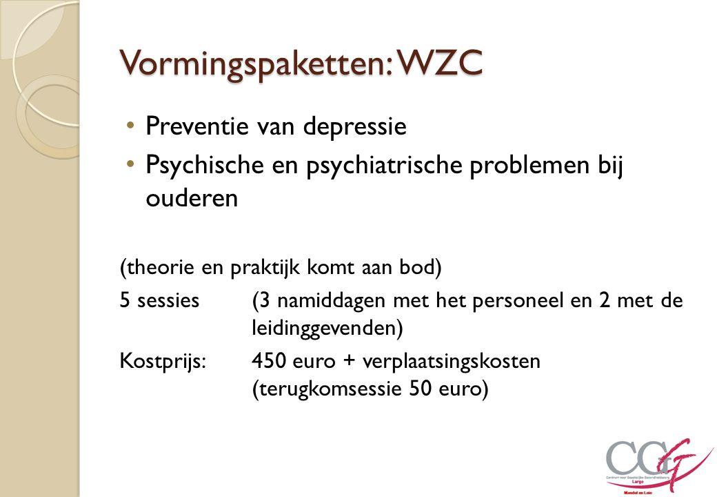 Vormingspaketten: WZC