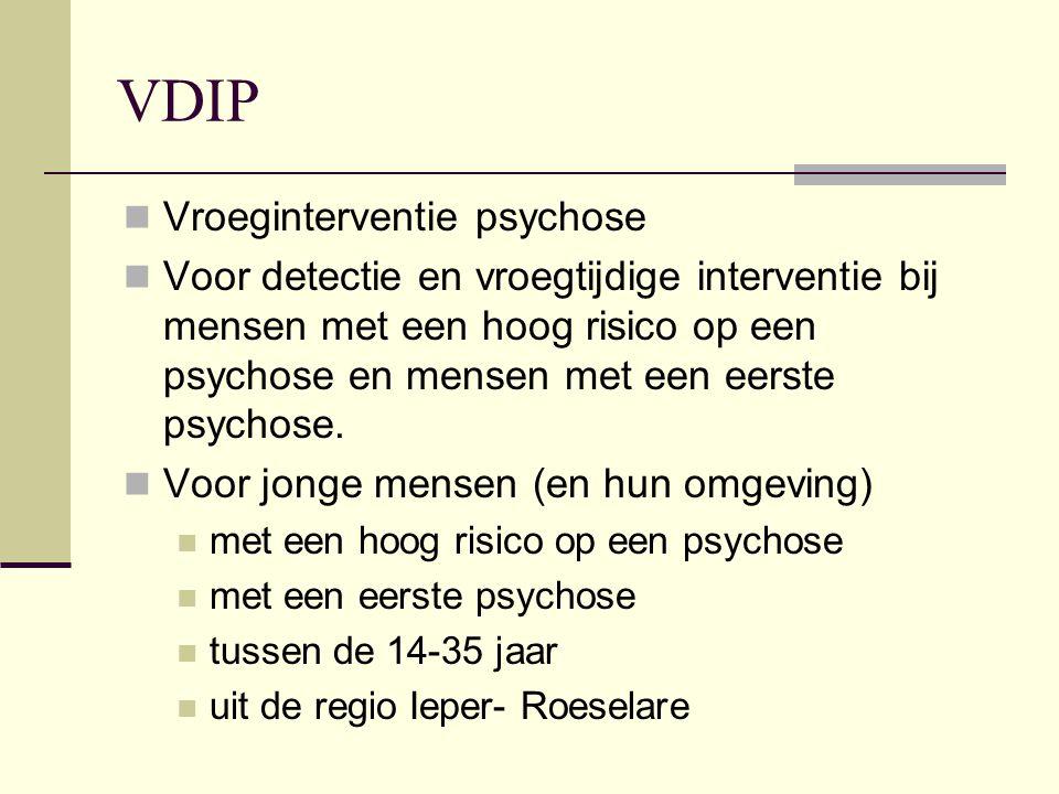 VDIP Vroeginterventie psychose