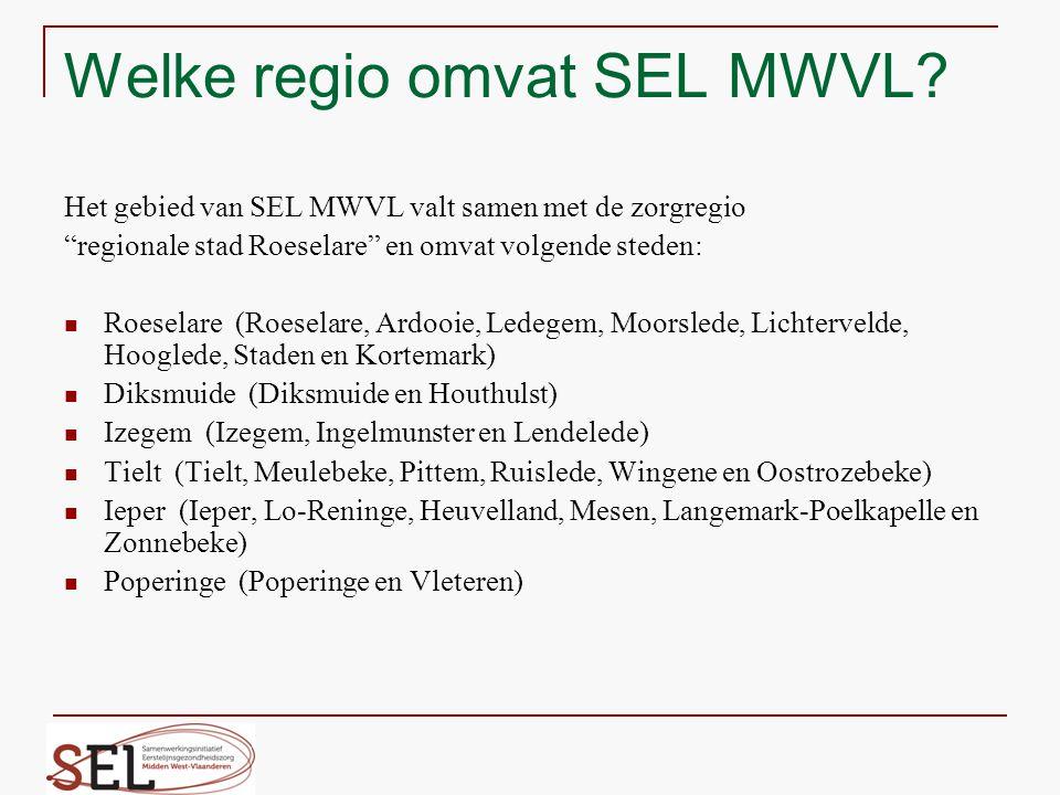 Welke regio omvat SEL MWVL