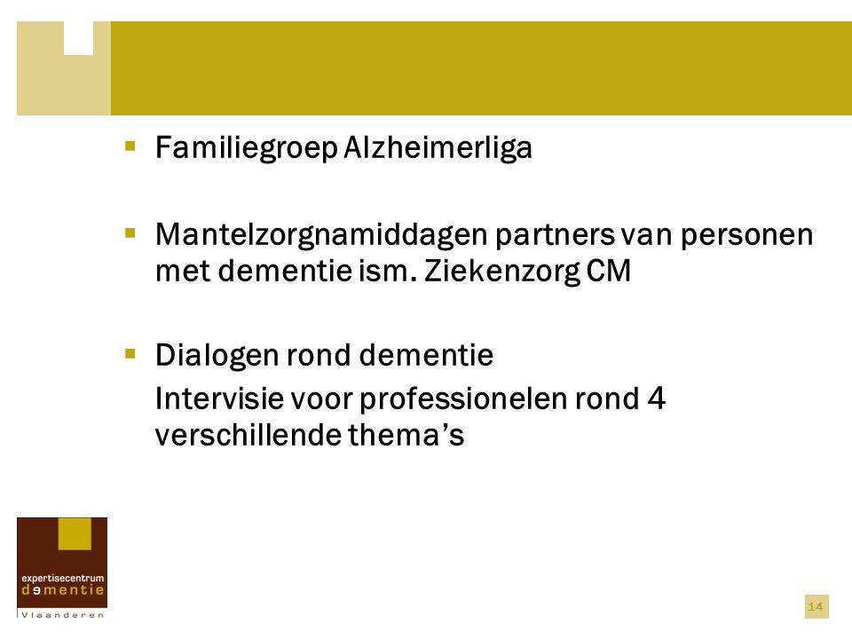 Familiegroep Alzheimerliga