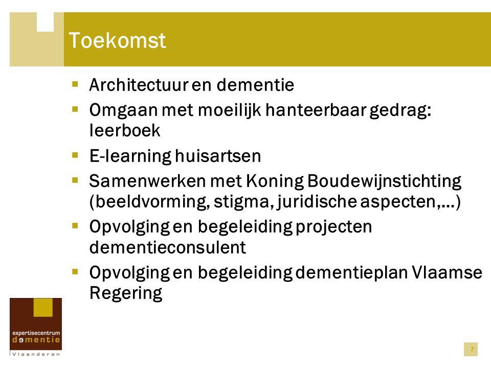 Toekomst Architectuur en dementie