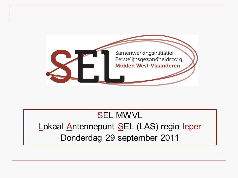 Lokaal Antennepunt SEL (LAS) regio Ieper