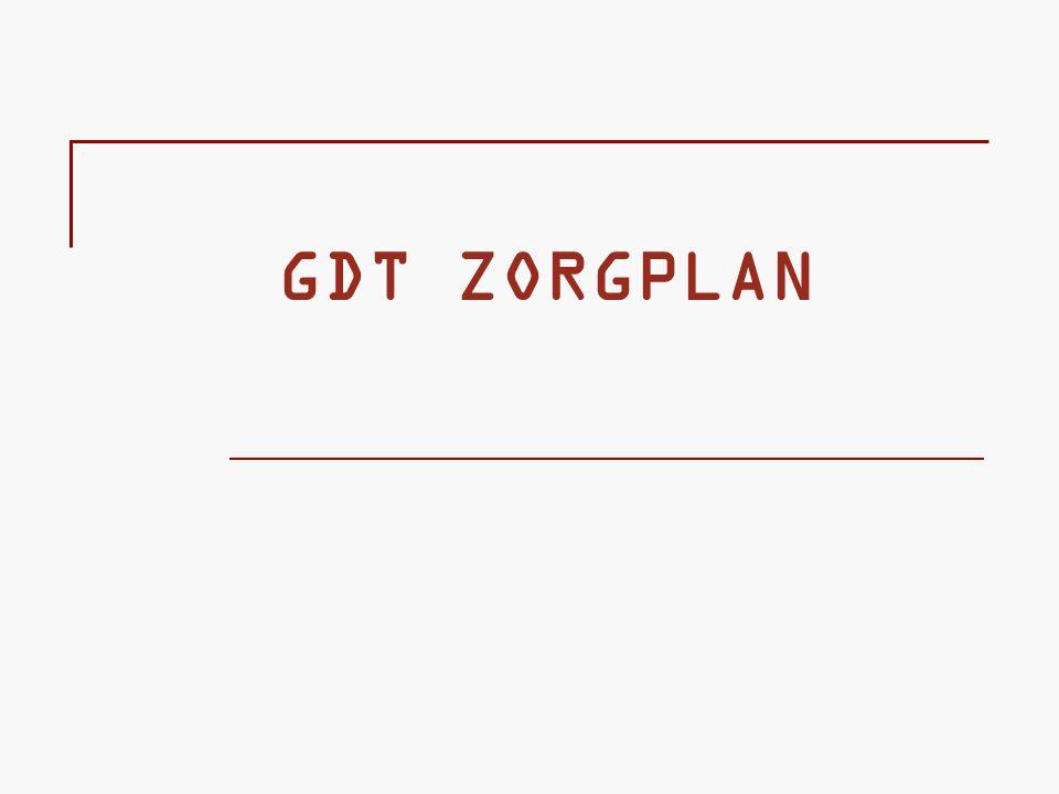GDT ZORGPLAN