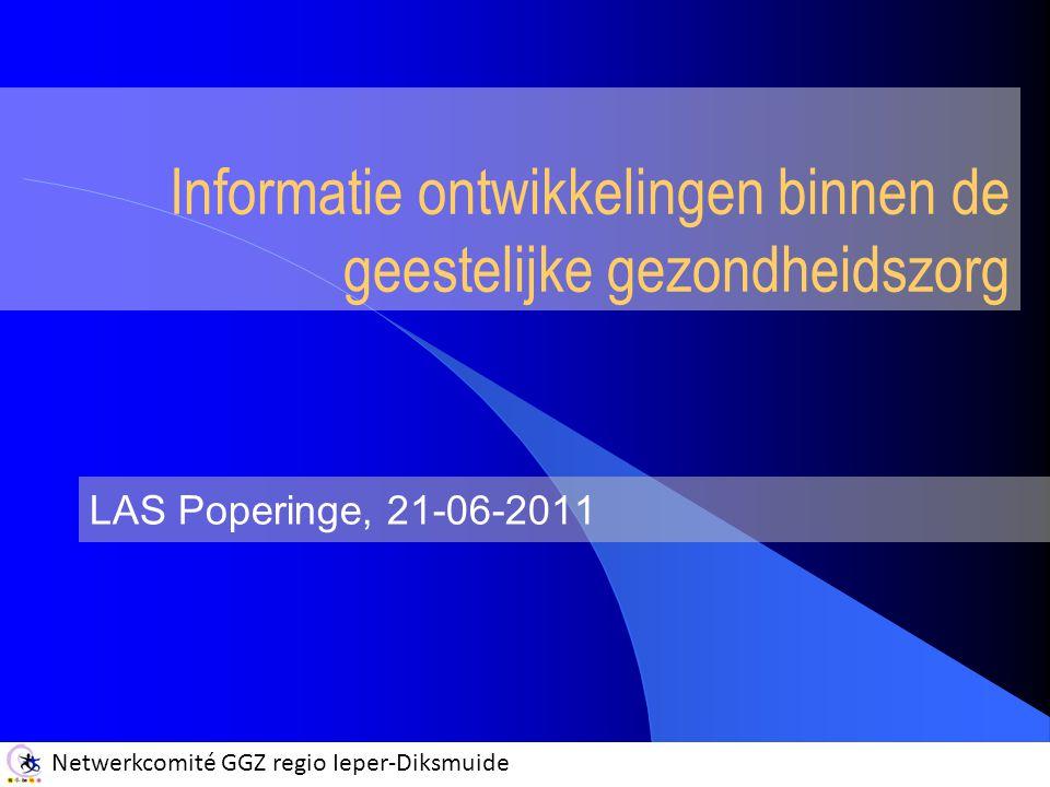 Informatie ontwikkelingen binnen de geestelijke gezondheidszorg