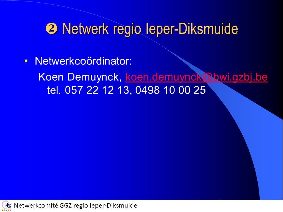 Netwerk regio Ieper-Diksmuide