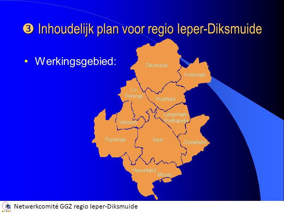 Inhoudelijk plan voor regio Ieper-Diksmuide