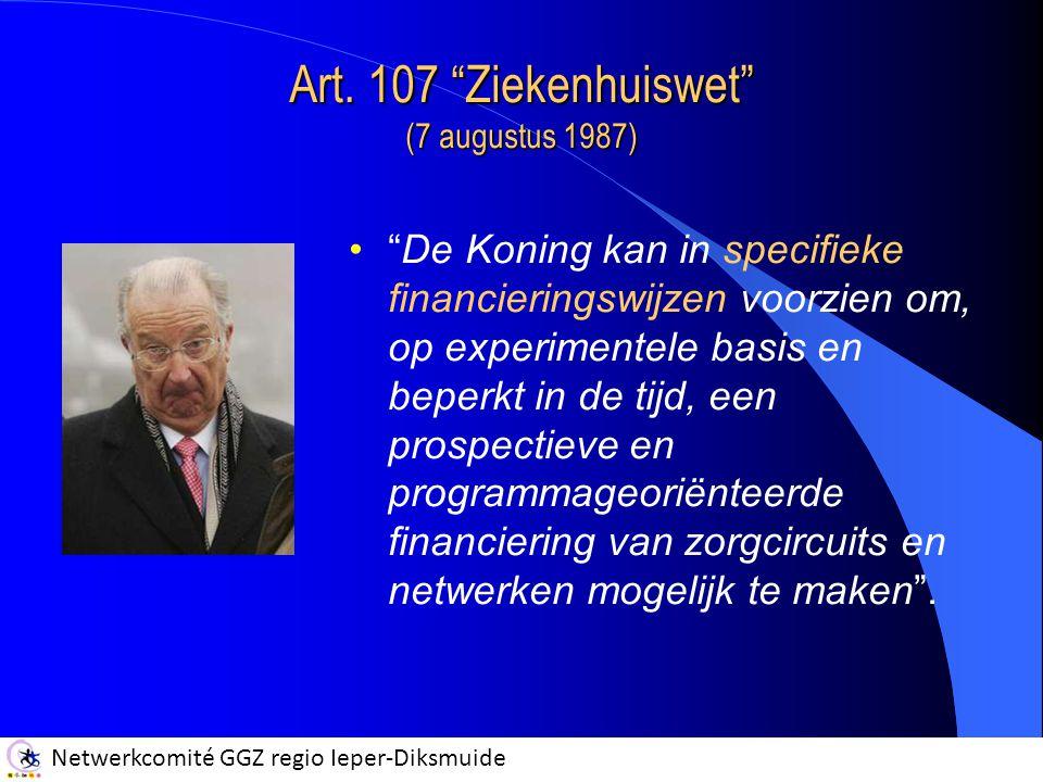Art. 107 Ziekenhuiswet (7 augustus 1987)