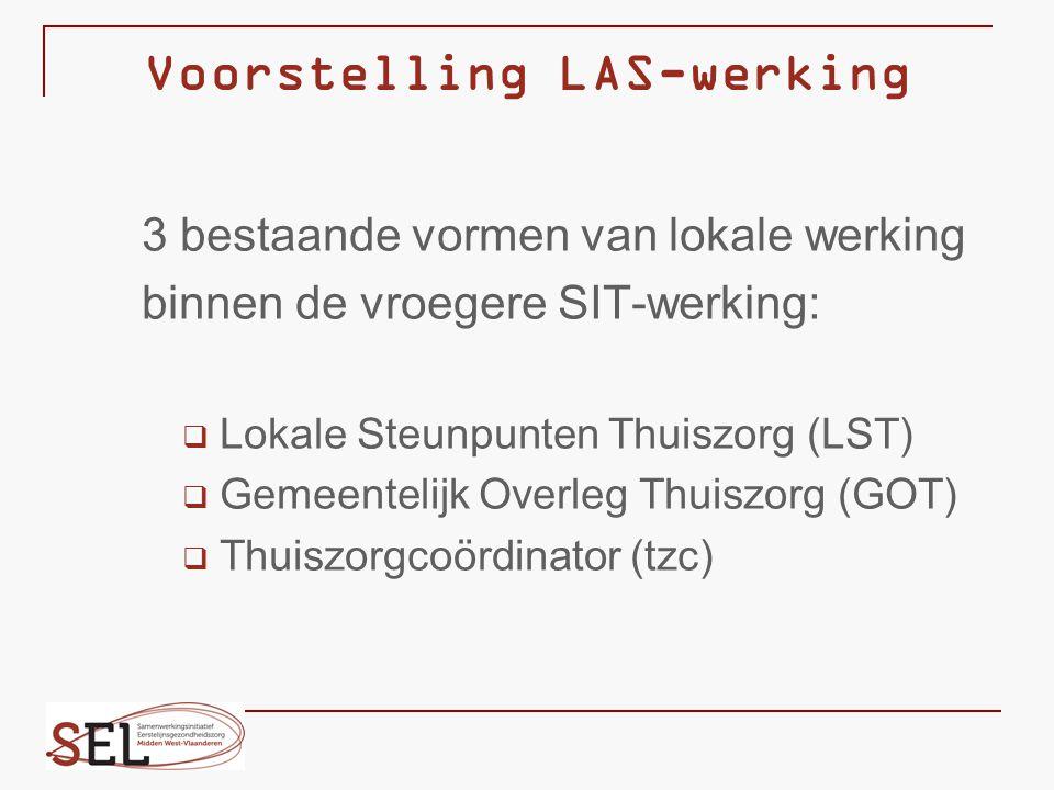 Voorstelling LAS-werking