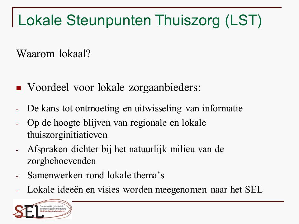 Lokale Steunpunten Thuiszorg (LST)