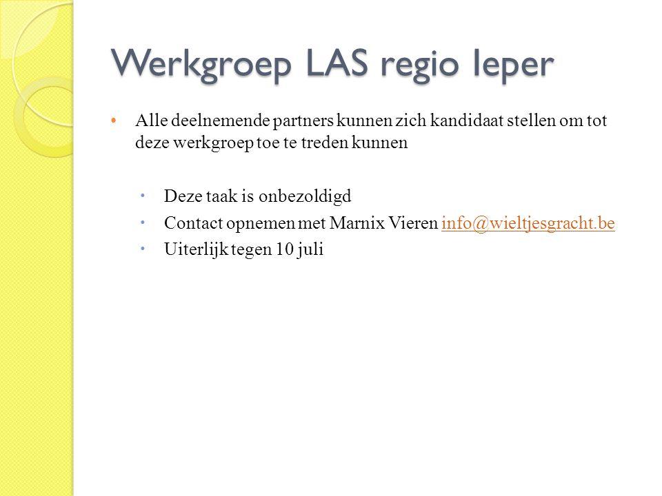 Werkgroep LAS regio Ieper