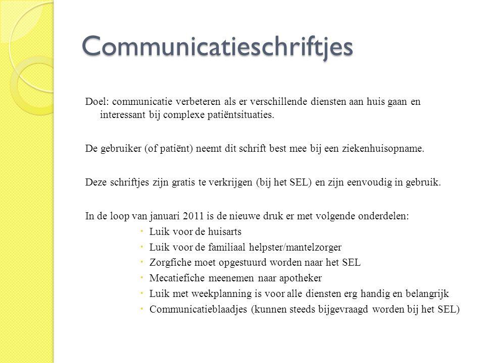 Communicatieschriftjes