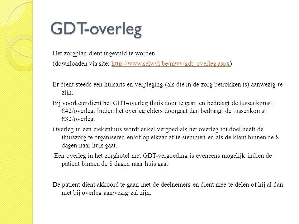 GDT-overleg