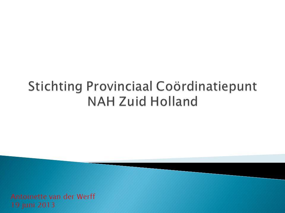 Stichting Provinciaal Coördinatiepunt NAH Zuid Holland