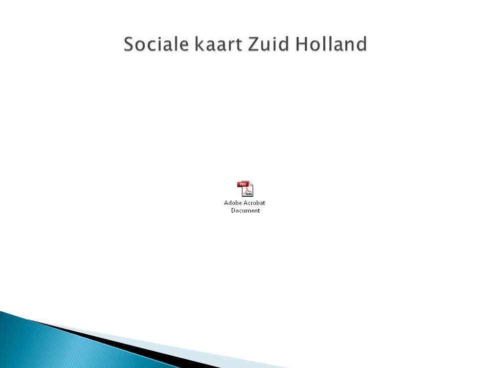 Sociale kaart Zuid Holland