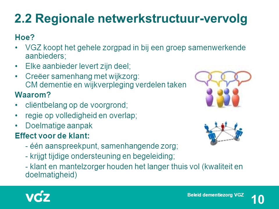 2.2 Regionale netwerkstructuur-vervolg