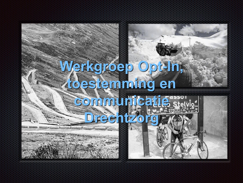 Werkgroep Opt-In, toestemming en communicatie