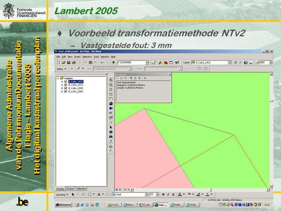 Voorbeeld transformatiemethode NTv2