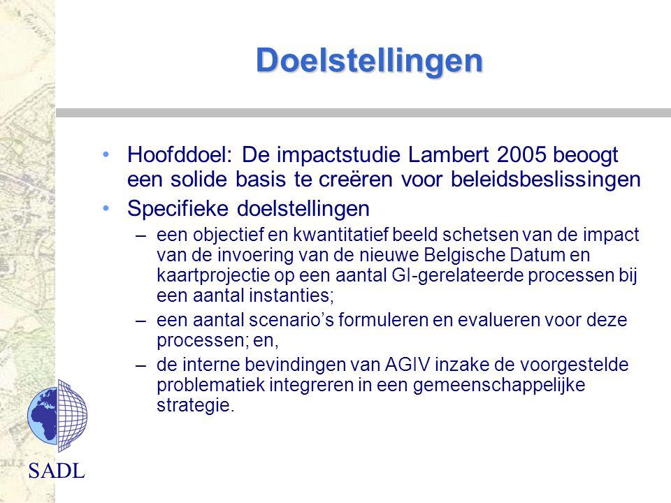Doelstellingen Hoofddoel: De impactstudie Lambert 2005 beoogt een solide basis te creëren voor beleidsbeslissingen.