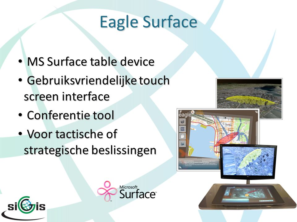 Eagle Surface MS Surface table device