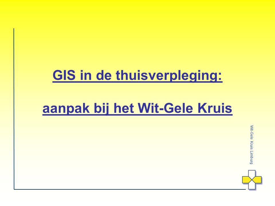 GIS in de thuisverpleging: aanpak bij het Wit-Gele Kruis