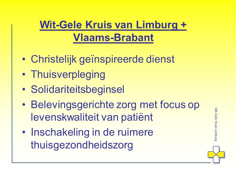 Wit-Gele Kruis van Limburg + Vlaams-Brabant