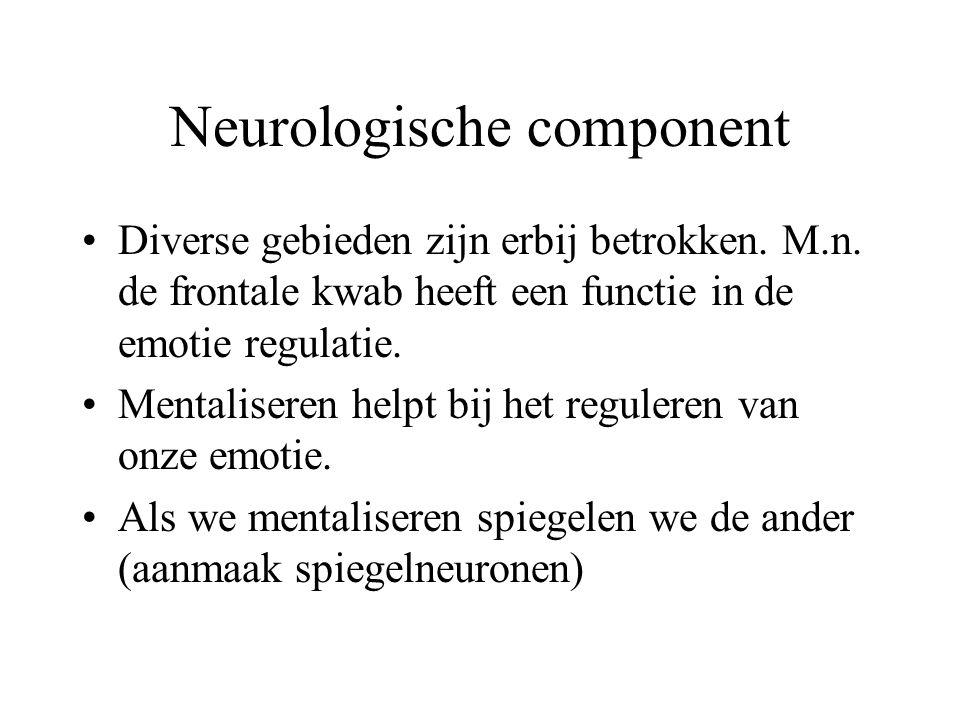 Neurologische component