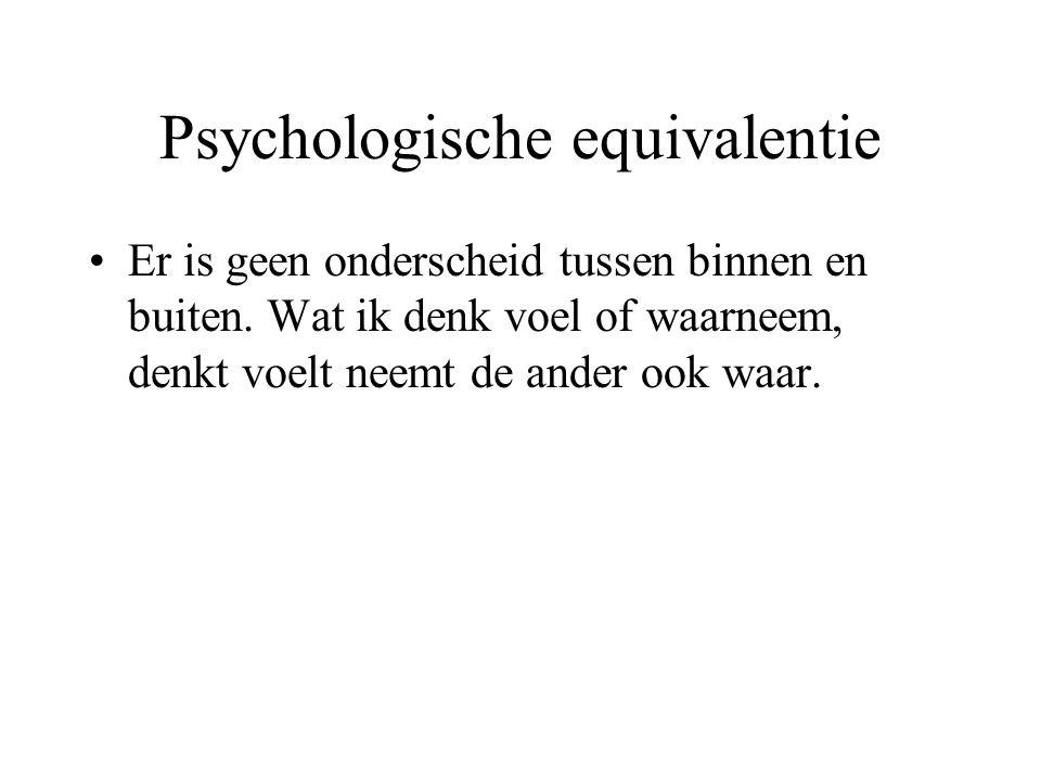 Psychologische equivalentie