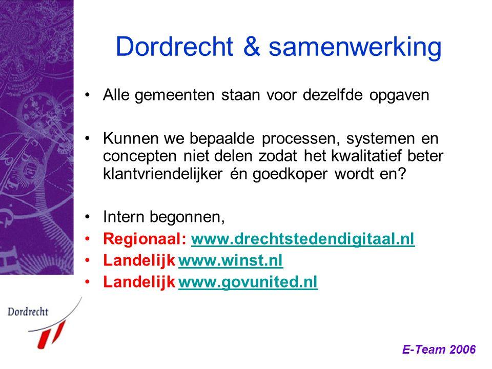 Dordrecht & samenwerking