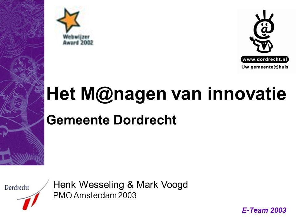 Het M@nagen van innovatie