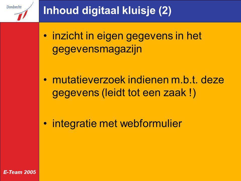 Inhoud digitaal kluisje (2)