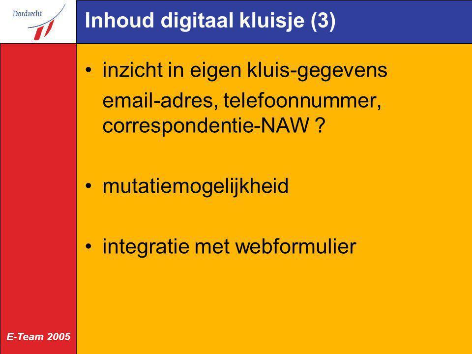 Inhoud digitaal kluisje (3)