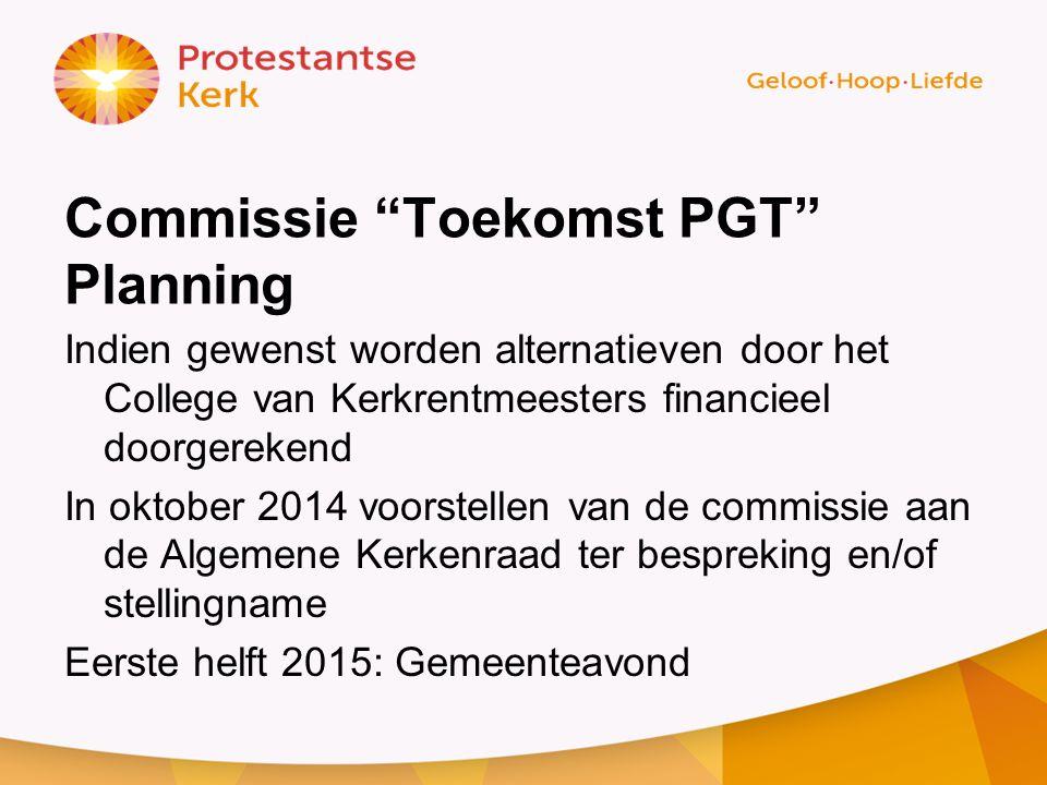 Commissie Toekomst PGT Planning