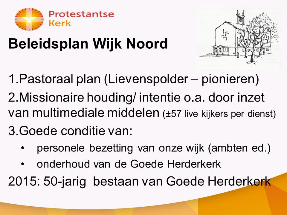 Beleidsplan Wijk Noord