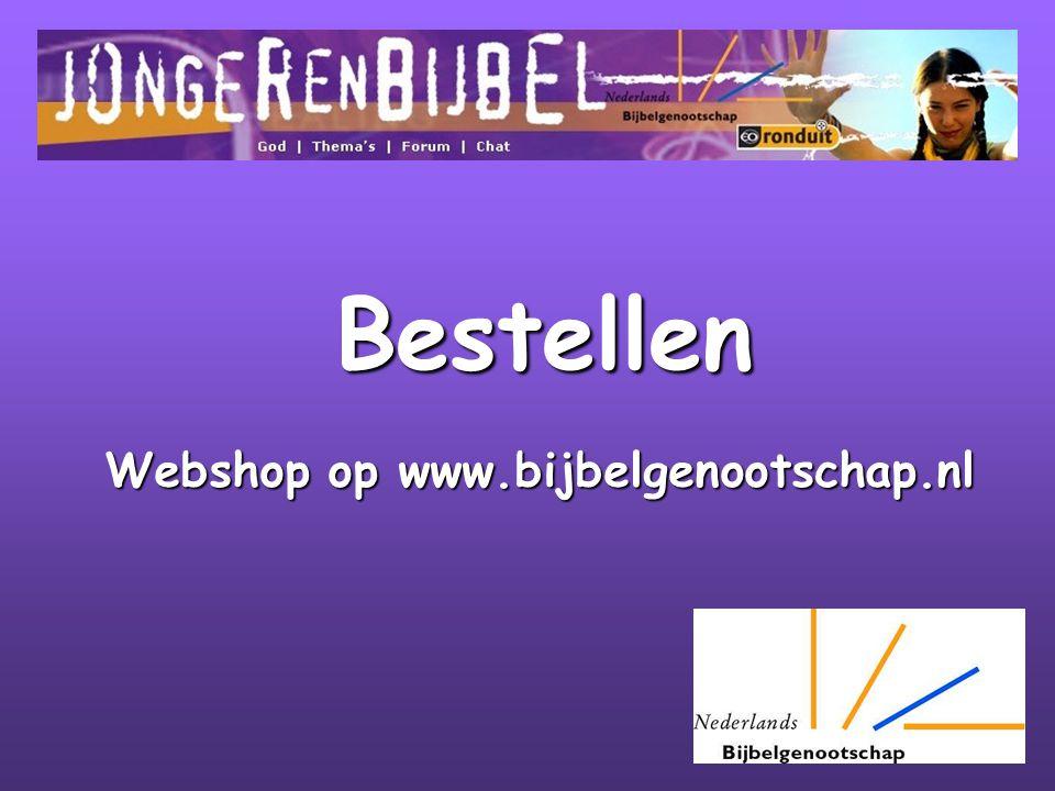 Webshop op www.bijbelgenootschap.nl