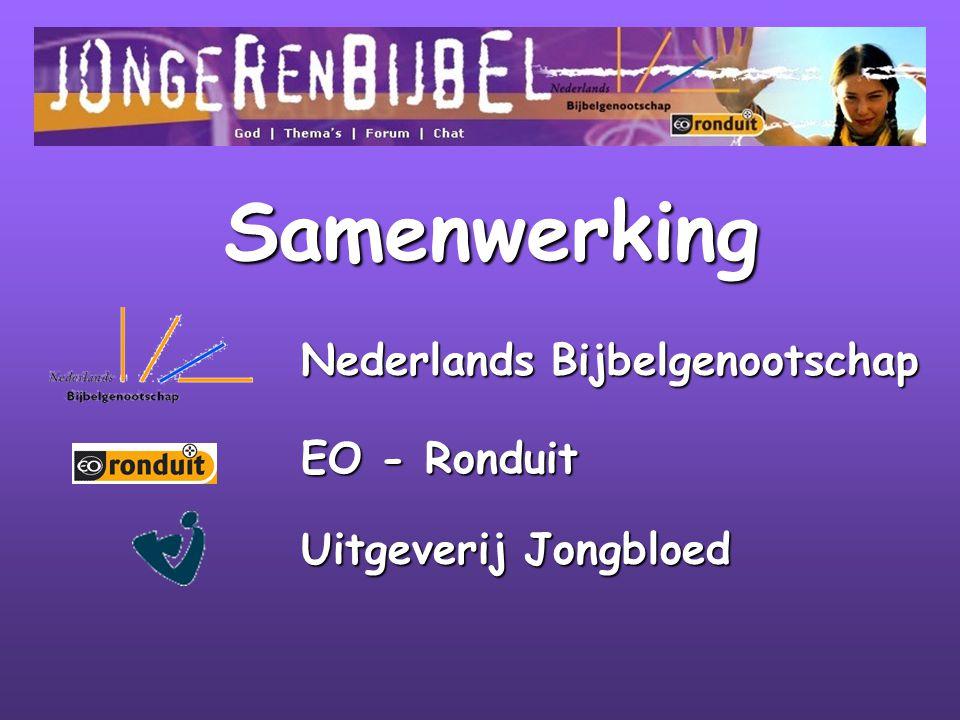 Samenwerking Nederlands Bijbelgenootschap EO - Ronduit