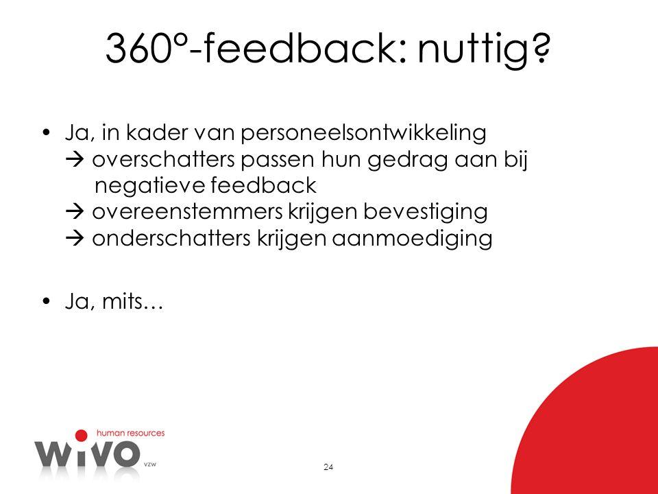360°-feedback: nuttig