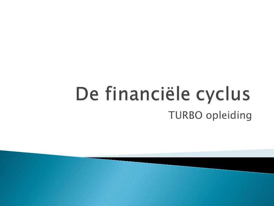 De financiële cyclus TURBO opleiding