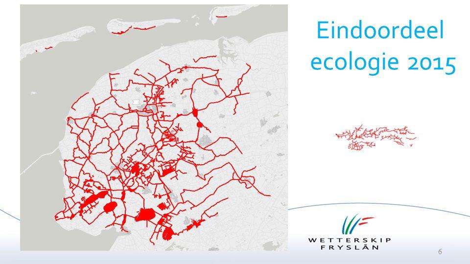 Eindoordeel ecologie 2015