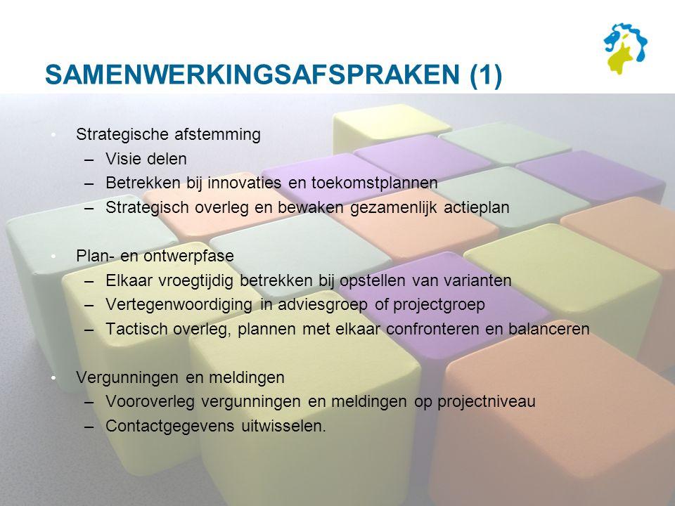 Samenwerkingsafspraken (1)