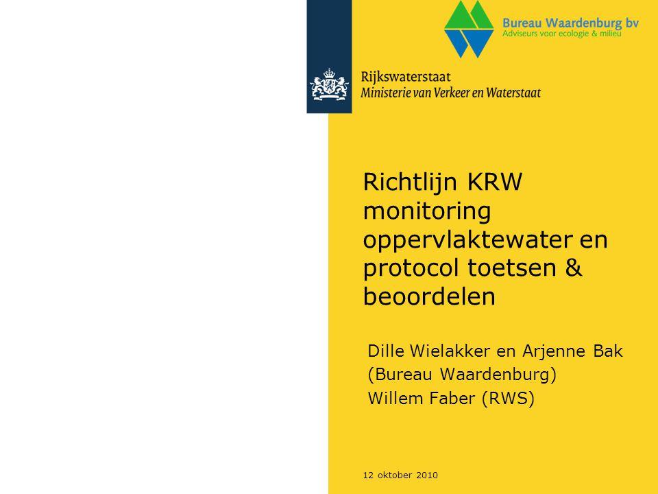 Dille Wielakker en Arjenne Bak (Bureau Waardenburg) Willem Faber (RWS)