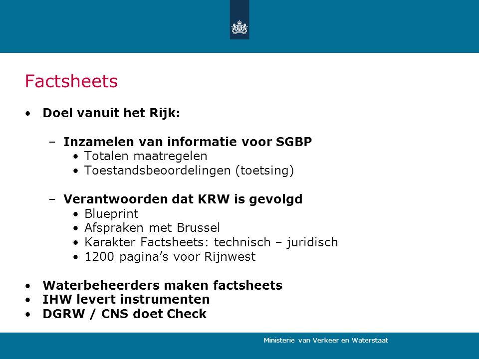 Factsheets Doel vanuit het Rijk: Inzamelen van informatie voor SGBP