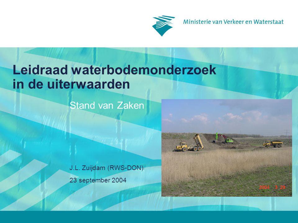 Leidraad waterbodemonderzoek in de uiterwaarden