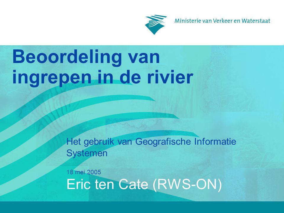 Beoordeling van ingrepen in de rivier